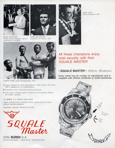 Squale Watches - Original Squalematic