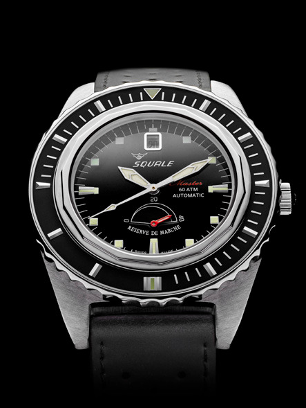 Squale Master Professional Dive Watch - Black