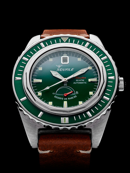 Squale Master Professional Dive Watch - Green