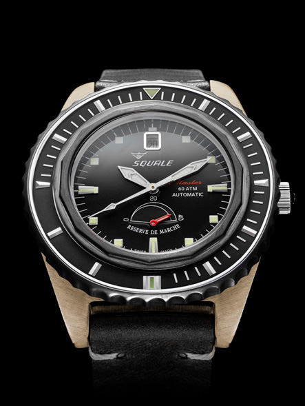 Squale Master Professional Dive Watch - Bronze case  / Grey dial