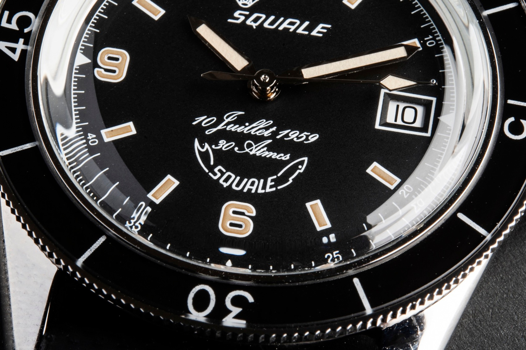 Squale 60 Year Limited Edition Watch Dial