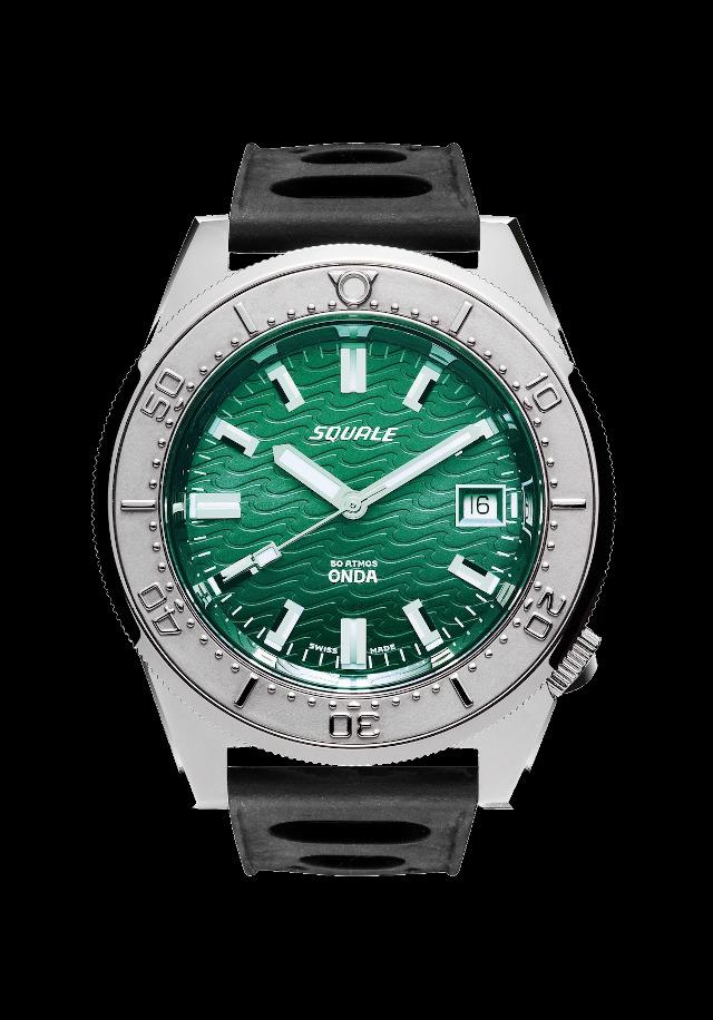 Squale 50 atmos Onda Emerald Green Dive Watch