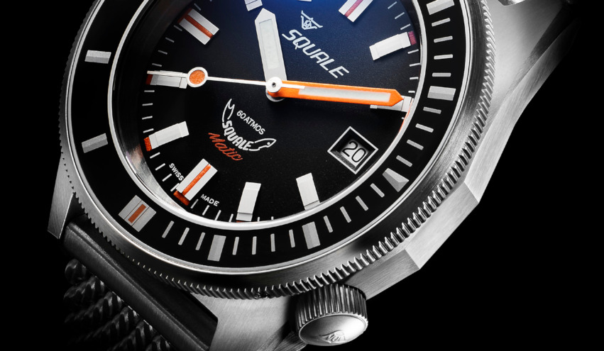 Squale Watch - 60 atmos - Squalematic