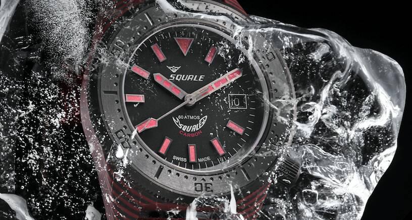 Squale T-183 Carbon Dive Watch