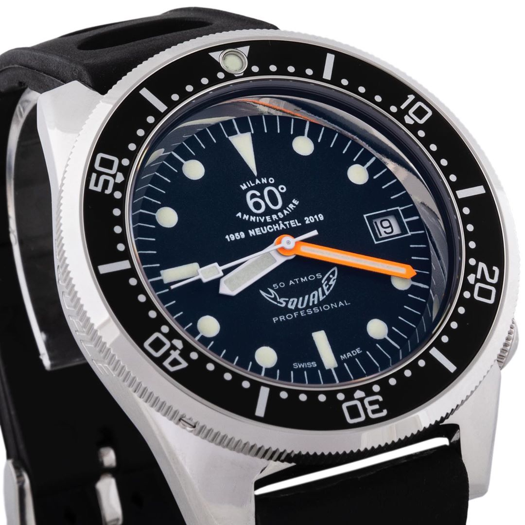 Squale 50 atmos Anniversaire Dive Watch