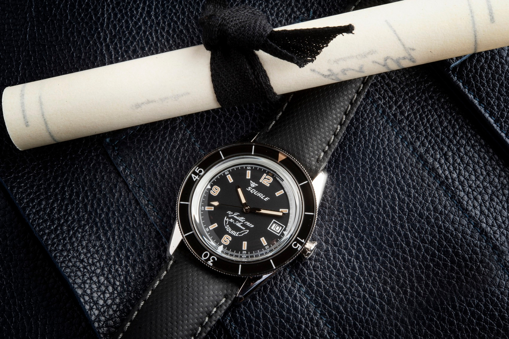 Squale 60 Year Limited Edition Dive Watch with Certificate