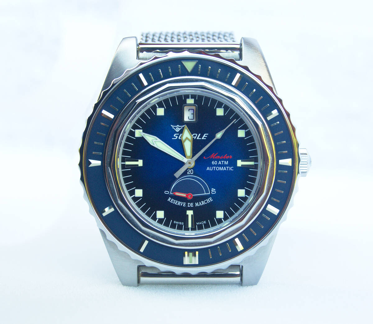 Squale Master Professional - Blue Dive Watch