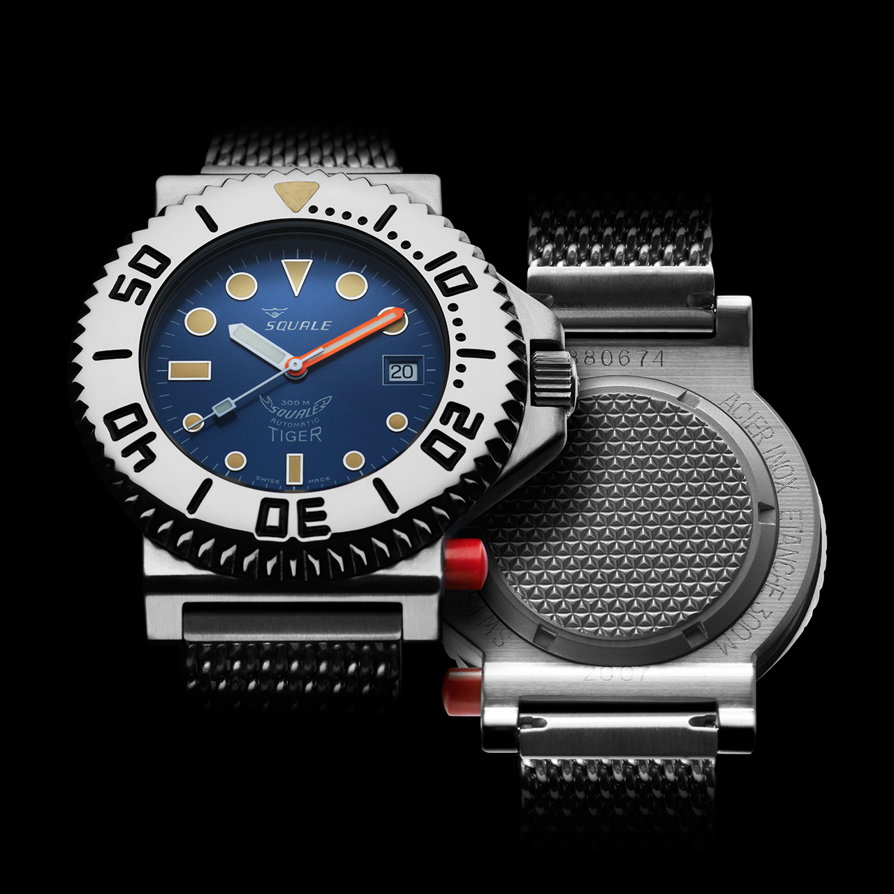 Squale Tiger Dive Watch - Blue
