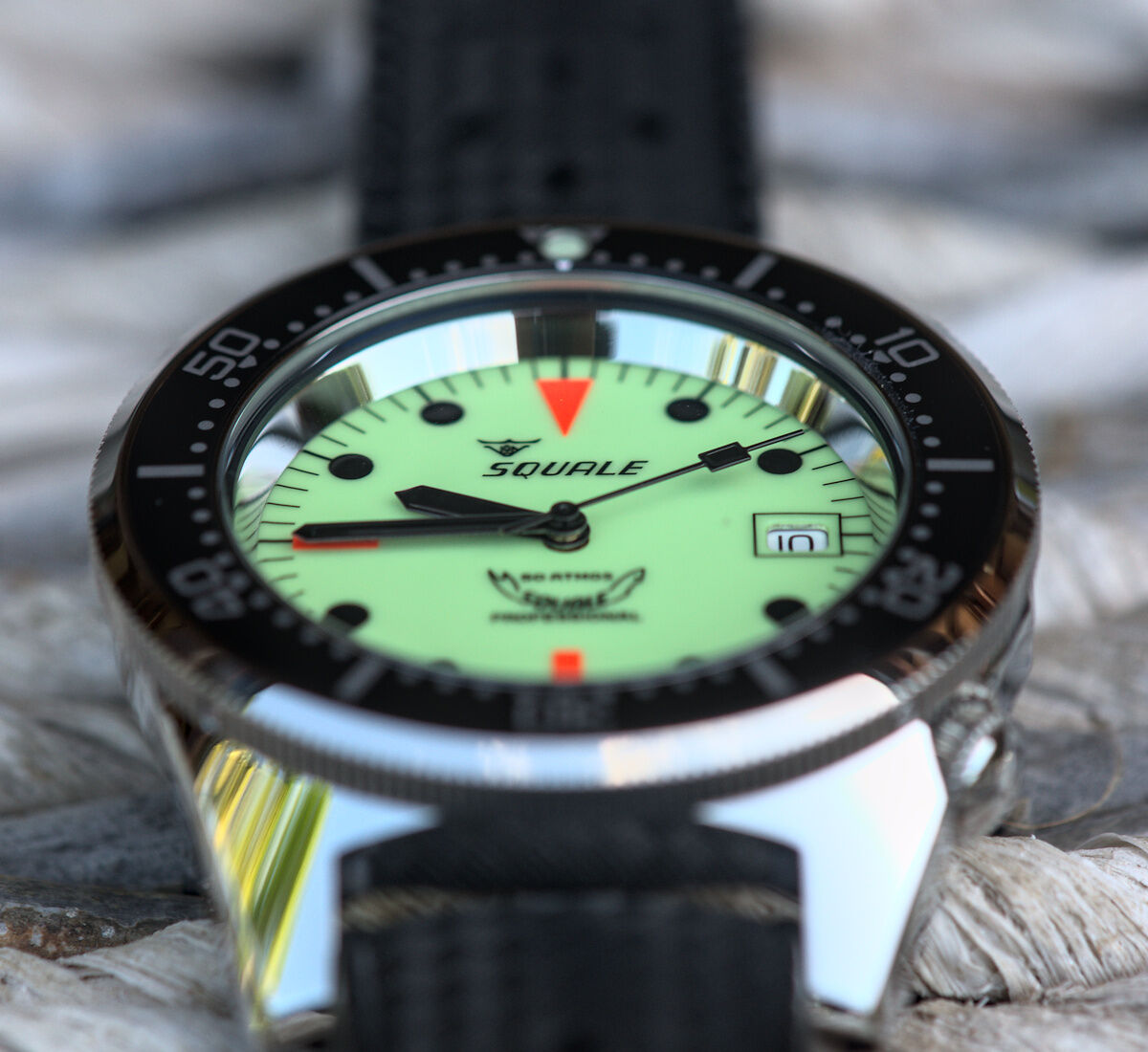 Squale 50 atmos 1521 Dive Watch Full Lume