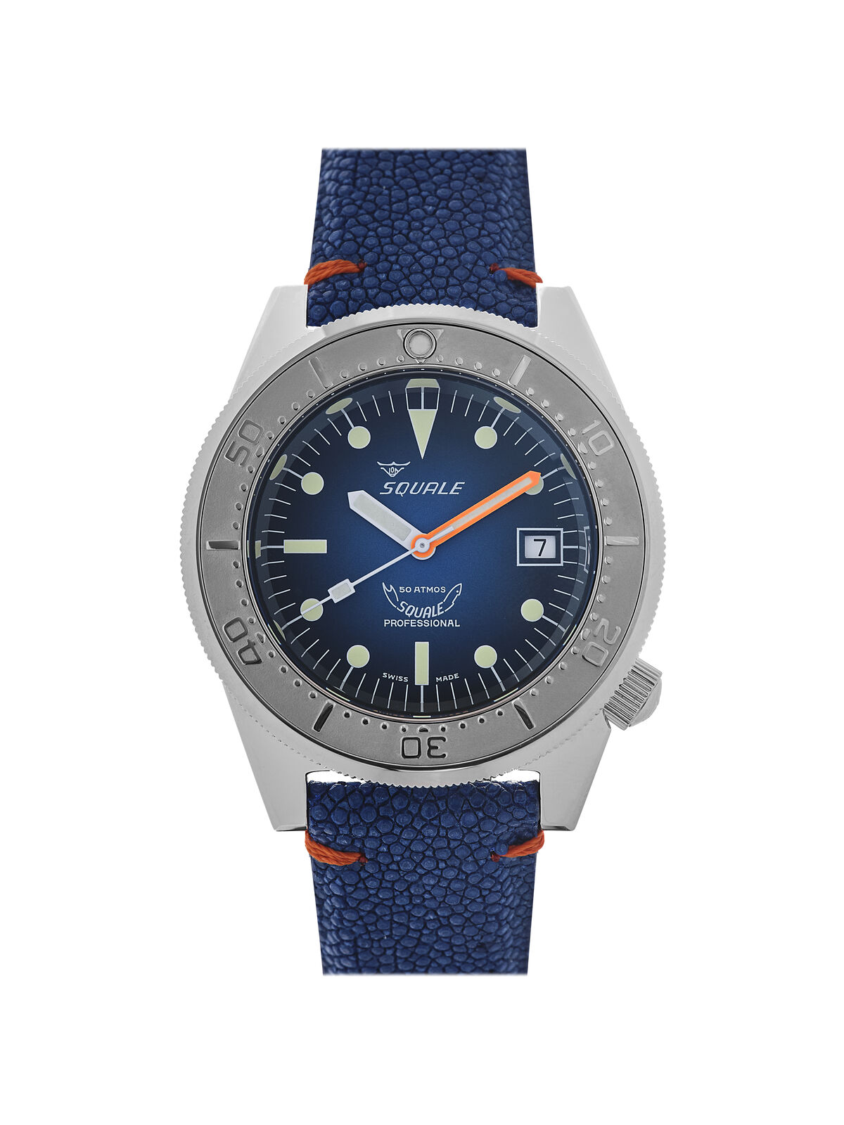 Squale 50 atmos 1521 Blu Ray Dive Watch