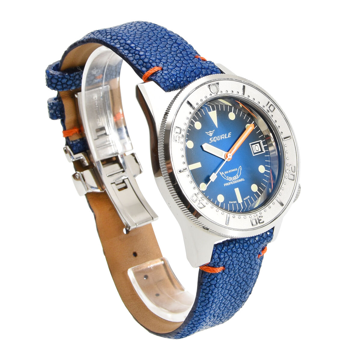 Squale 50 atmos 1521 Blu-Ray Dive Watch